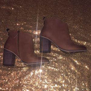 Brand new, women's booties.